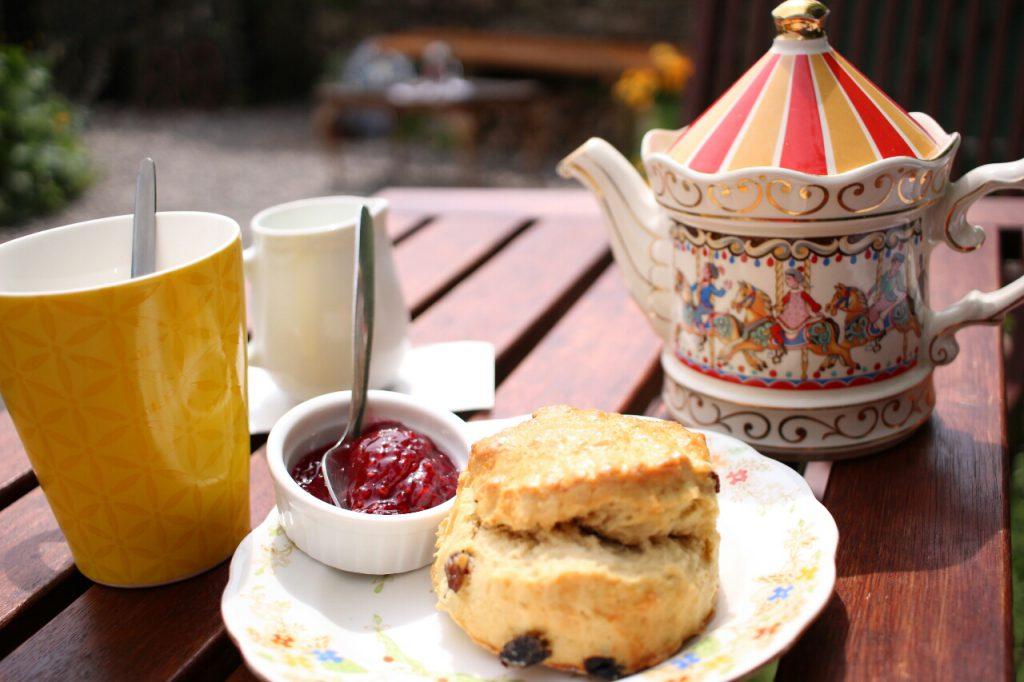 Tea and scones gehen immer!