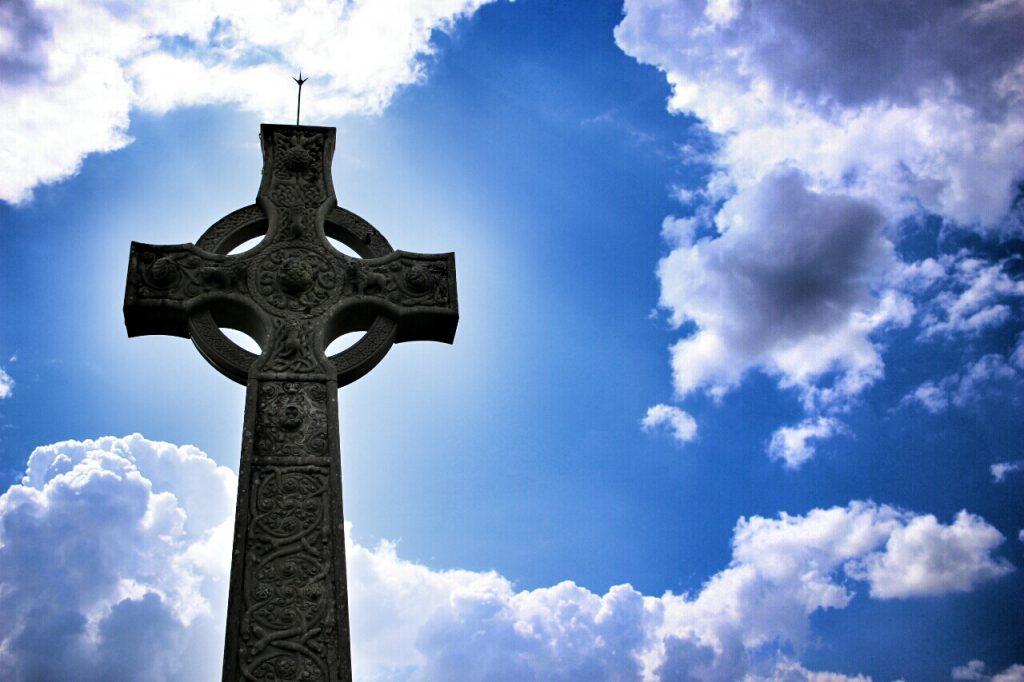 Gedenkstätte an ein Mitglied des McLean-Clans in den Highlands.