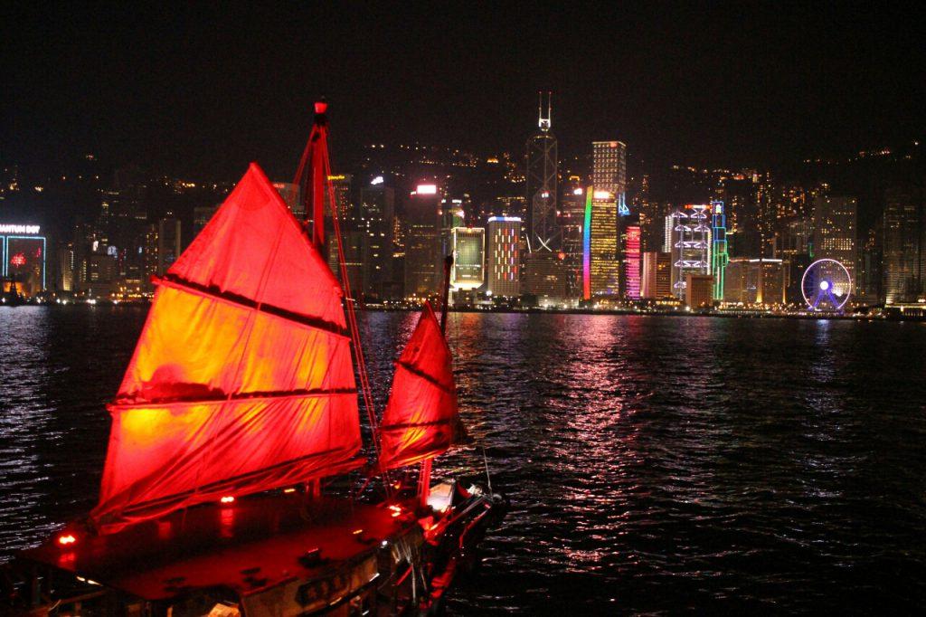 Bunt, laut, einfach gigantisch: Hongkong