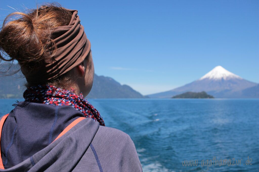 Ich konnte mich an dem Anblick des Osornos und der anderen Vulkane gar nicht sattsehen. Für so etwas muss man wahrlich bis ans andere Ende der Welt fliegen.